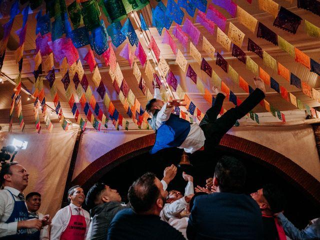 La boda de Uriel y Gabriela en Tepotzotlán, Estado México 116