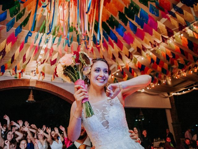 La boda de Uriel y Gabriela en Tepotzotlán, Estado México 117