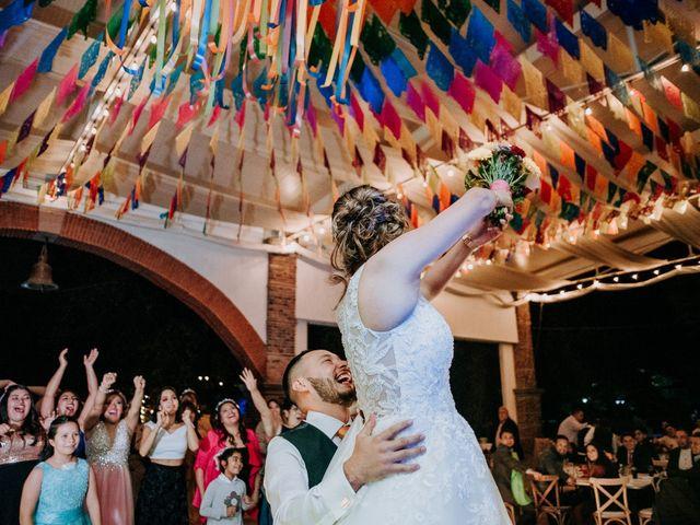 La boda de Uriel y Gabriela en Tepotzotlán, Estado México 118