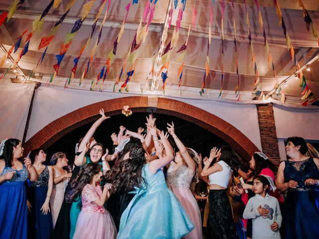 La boda de Uriel y Gabriela en Tepotzotlán, Estado México 119