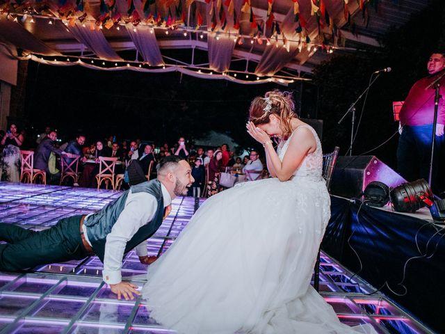 La boda de Uriel y Gabriela en Tepotzotlán, Estado México 124