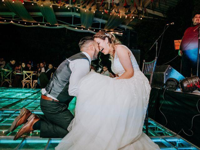 La boda de Uriel y Gabriela en Tepotzotlán, Estado México 126