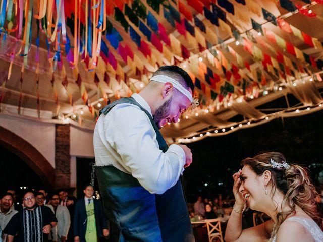 La boda de Uriel y Gabriela en Tepotzotlán, Estado México 128