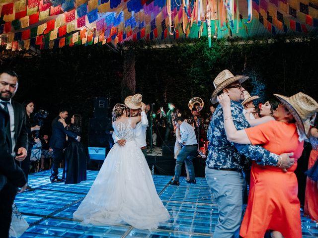 La boda de Uriel y Gabriela en Tepotzotlán, Estado México 136