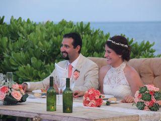 La boda de Sandra  y Aref