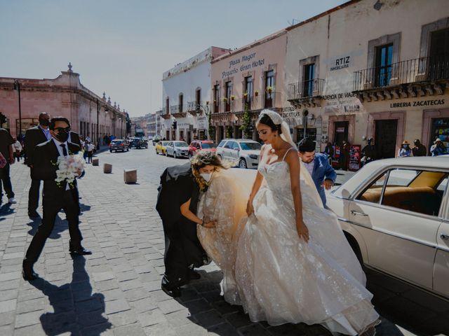 La boda de Felipe y Cristina en Zacatecas, Zacatecas 49