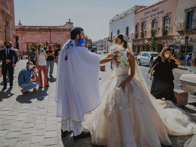 La boda de Felipe y Cristina en Zacatecas, Zacatecas 50