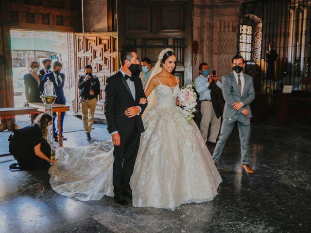 La boda de Felipe y Cristina en Zacatecas, Zacatecas 51
