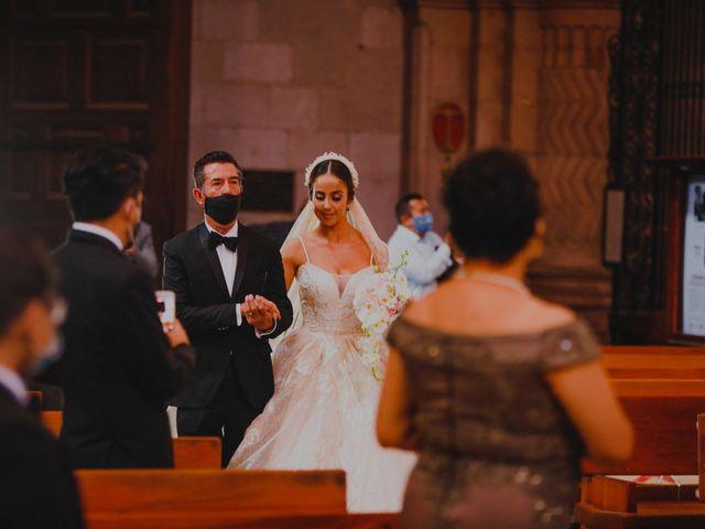 La boda de Felipe y Cristina en Zacatecas, Zacatecas 52