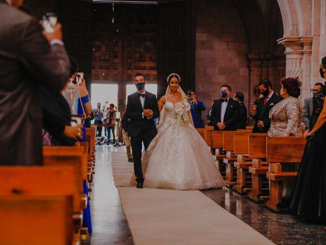 La boda de Felipe y Cristina en Zacatecas, Zacatecas 53