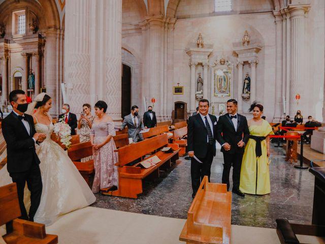 La boda de Felipe y Cristina en Zacatecas, Zacatecas 54