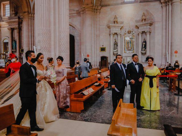 La boda de Felipe y Cristina en Zacatecas, Zacatecas 55
