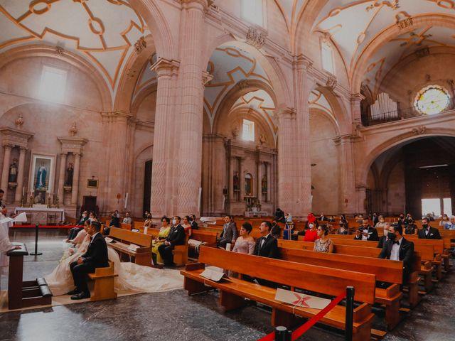 La boda de Felipe y Cristina en Zacatecas, Zacatecas 58
