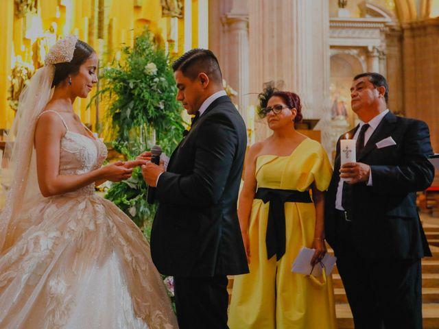 La boda de Felipe y Cristina en Zacatecas, Zacatecas 66