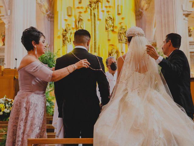 La boda de Felipe y Cristina en Zacatecas, Zacatecas 70