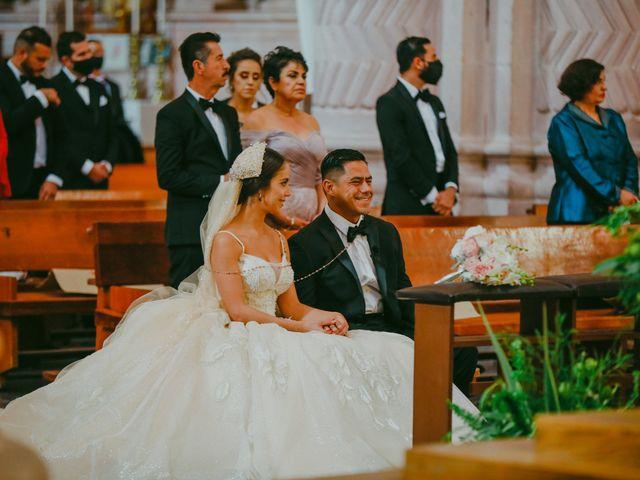 La boda de Felipe y Cristina en Zacatecas, Zacatecas 71