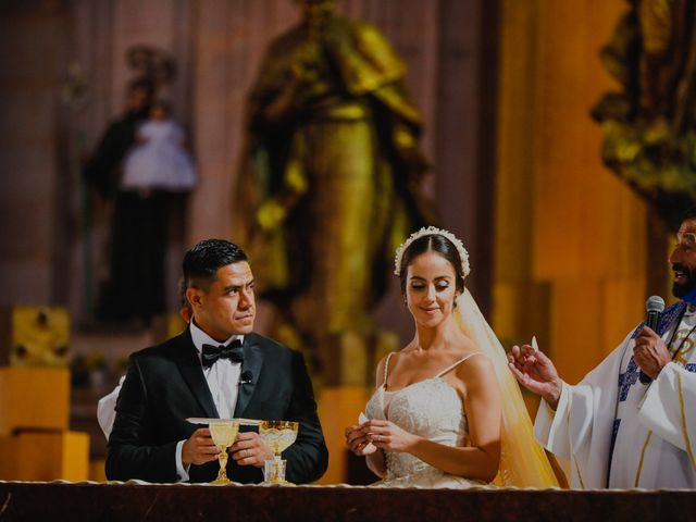 La boda de Felipe y Cristina en Zacatecas, Zacatecas 73