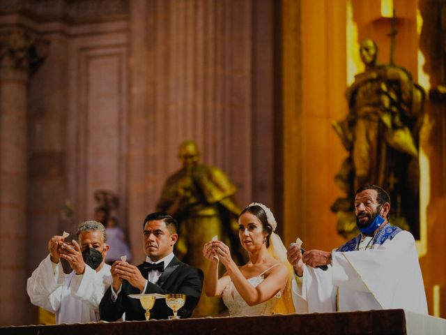 La boda de Felipe y Cristina en Zacatecas, Zacatecas 74