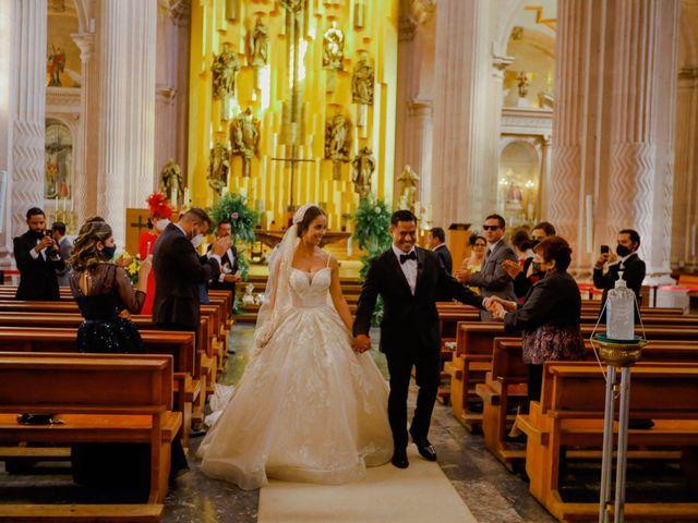 La boda de Felipe y Cristina en Zacatecas, Zacatecas 76