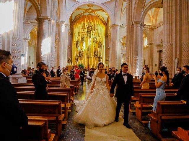 La boda de Felipe y Cristina en Zacatecas, Zacatecas 77