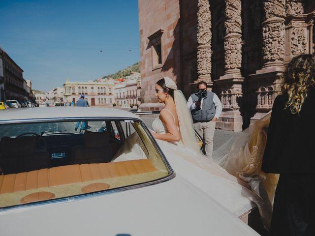 La boda de Felipe y Cristina en Zacatecas, Zacatecas 78
