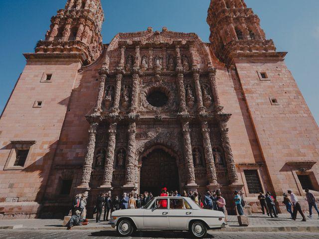 La boda de Felipe y Cristina en Zacatecas, Zacatecas 82