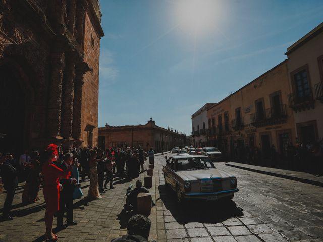 La boda de Felipe y Cristina en Zacatecas, Zacatecas 83