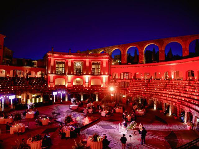 La boda de Felipe y Cristina en Zacatecas, Zacatecas 93