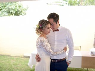 La boda de Elena Pimentel y Erick Raya