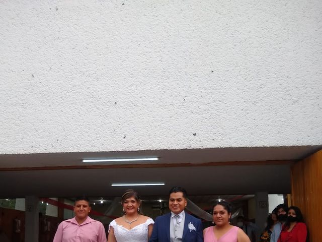 La boda de Enrique y Cristina en Naucalpan, Estado México 8