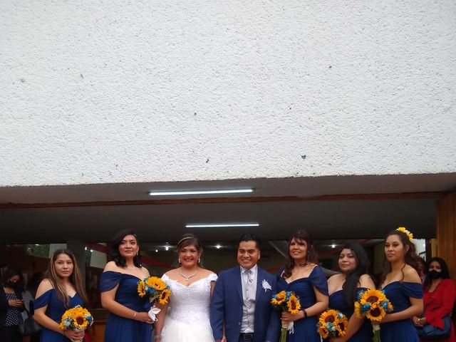La boda de Enrique y Cristina en Naucalpan, Estado México 12