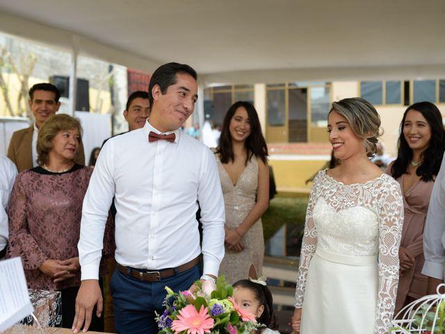 La boda de Erick Raya y Elena Pimentel en Morelia, Michoacán 24