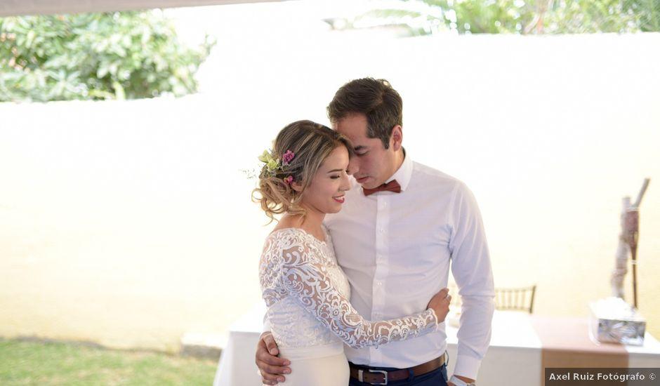 La boda de Erick Raya y Elena Pimentel en Morelia, Michoacán