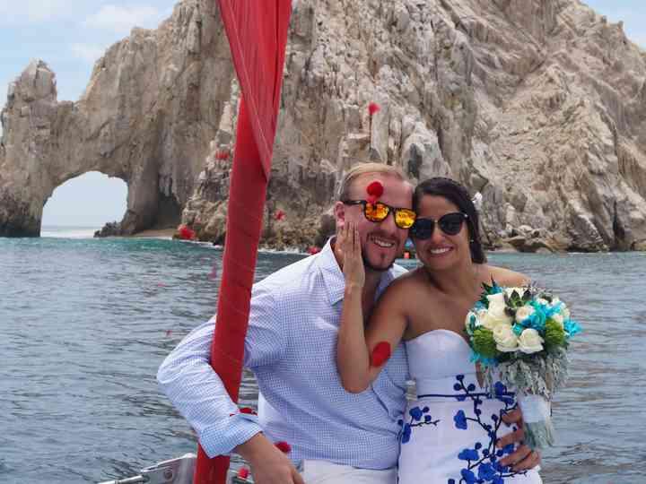La boda de Lau y Gordon