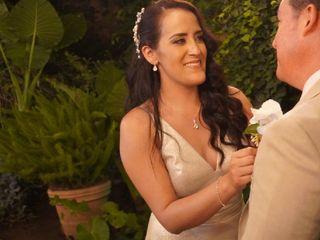 La boda de Yvette y Enrique