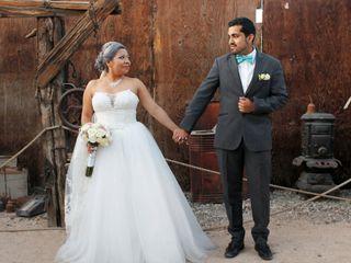 La boda de Nallely y Christian