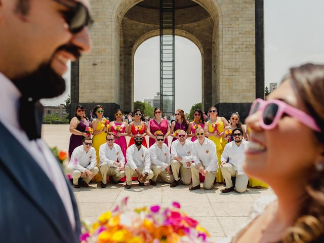 La boda de Hytham y Elizandra en Miguel Hidalgo, Ciudad de México 1