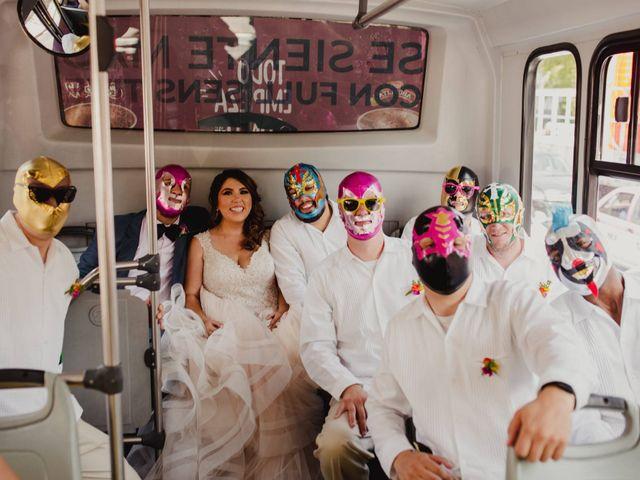 La boda de Hytham y Elizandra en Miguel Hidalgo, Ciudad de México 11