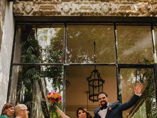 La boda de Hytham y Elizandra en Miguel Hidalgo, Ciudad de México 25