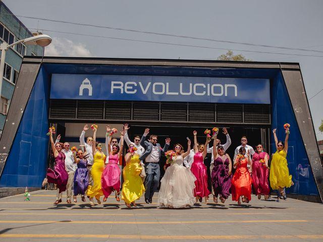 La boda de Hytham y Elizandra en Miguel Hidalgo, Ciudad de México 35