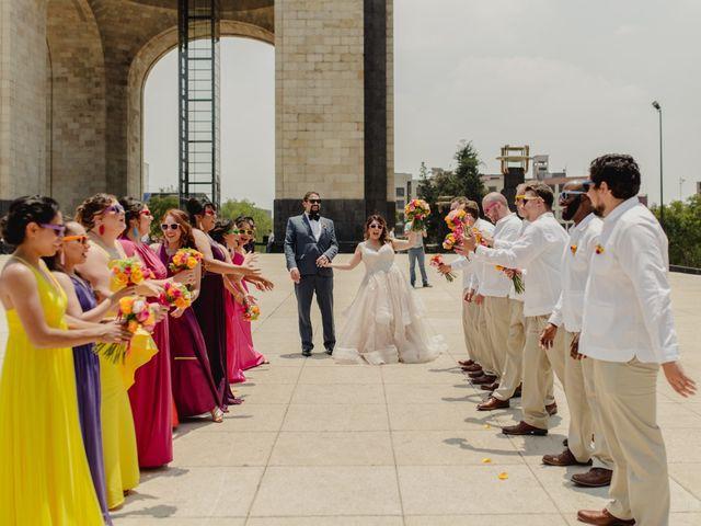 La boda de Hytham y Elizandra en Miguel Hidalgo, Ciudad de México 42