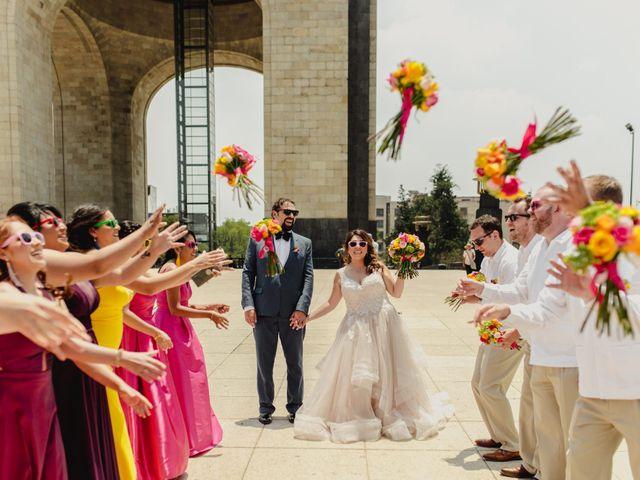 La boda de Hytham y Elizandra en Miguel Hidalgo, Ciudad de México 45