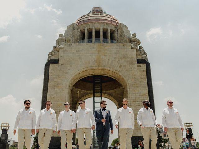 La boda de Hytham y Elizandra en Miguel Hidalgo, Ciudad de México 50