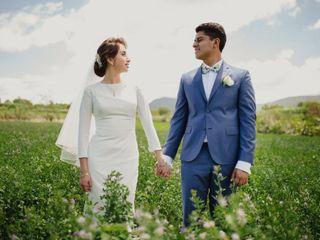 La boda de Nadzyeli y Irving