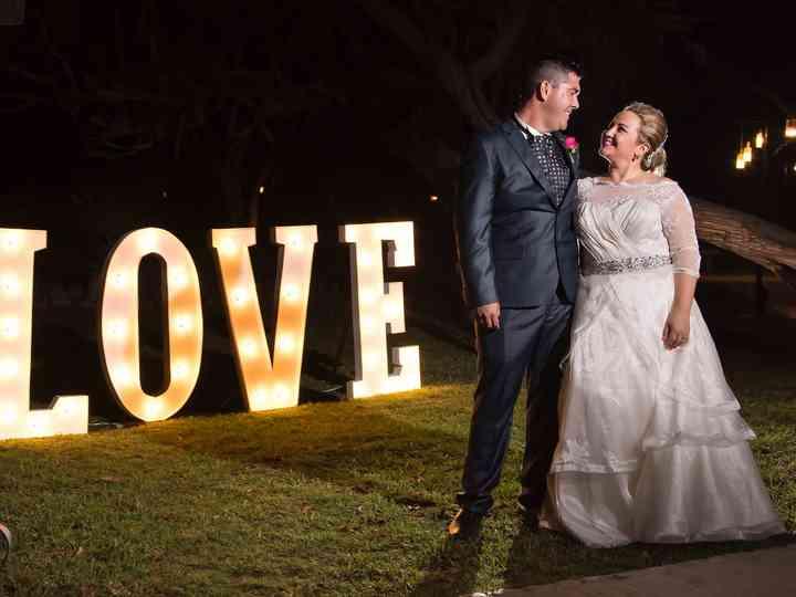 La boda de Carolina y Didier