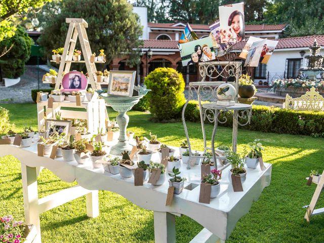 La boda de Marco y María  en Tepotzotlán, Estado México 6
