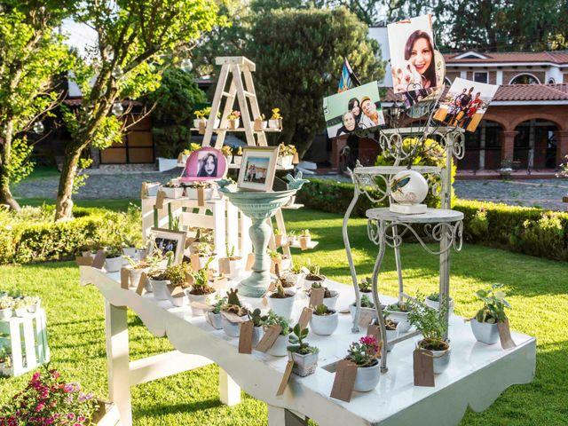 La boda de Marco y María  en Tepotzotlán, Estado México 7