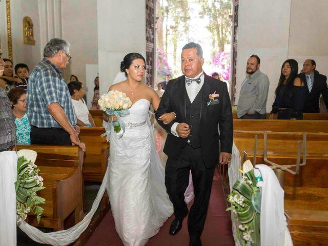 La boda de Marco y María  en Tepotzotlán, Estado México 26