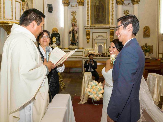 La boda de Marco y María  en Tepotzotlán, Estado México 31