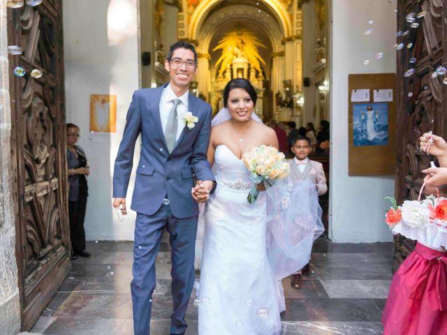 La boda de Marco y María  en Tepotzotlán, Estado México 33